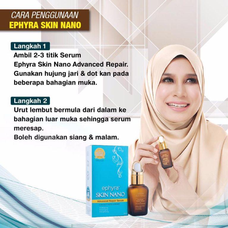 ephyra skincare series - skin nano serum